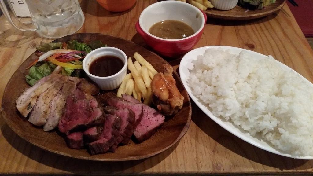 肉あいもりステーキプレート
