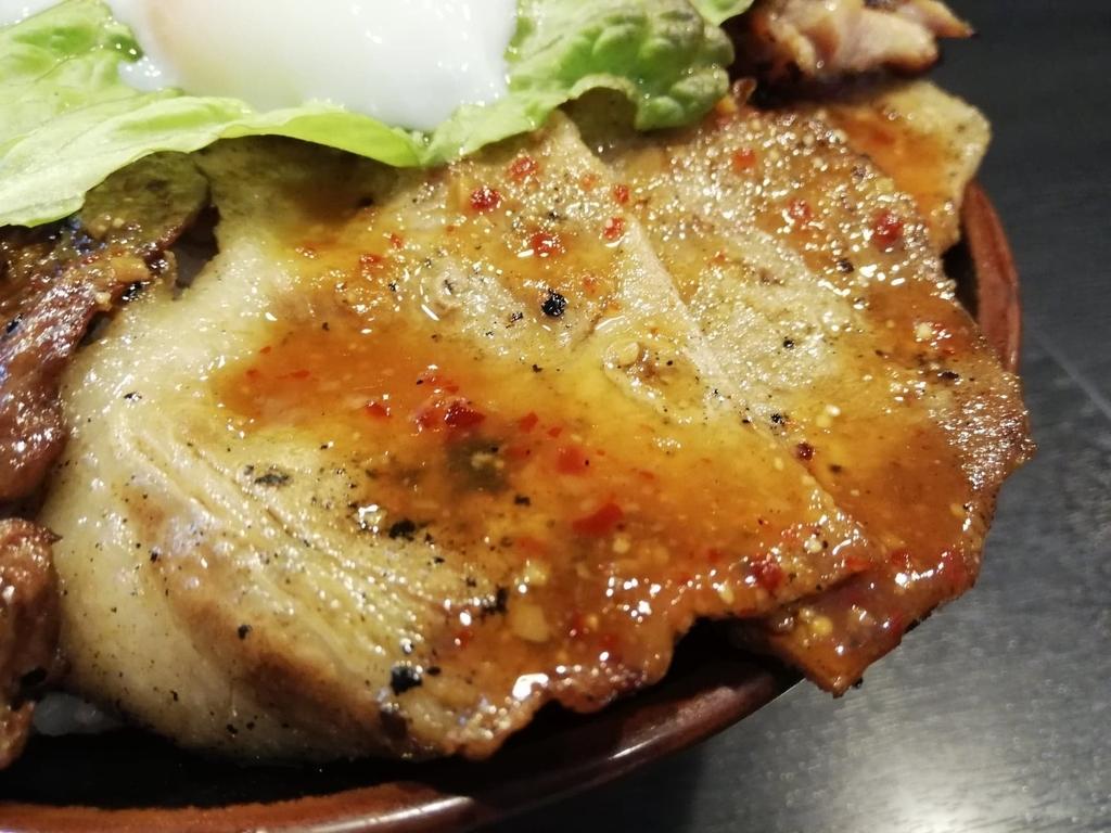 BIG丼の豚ロース