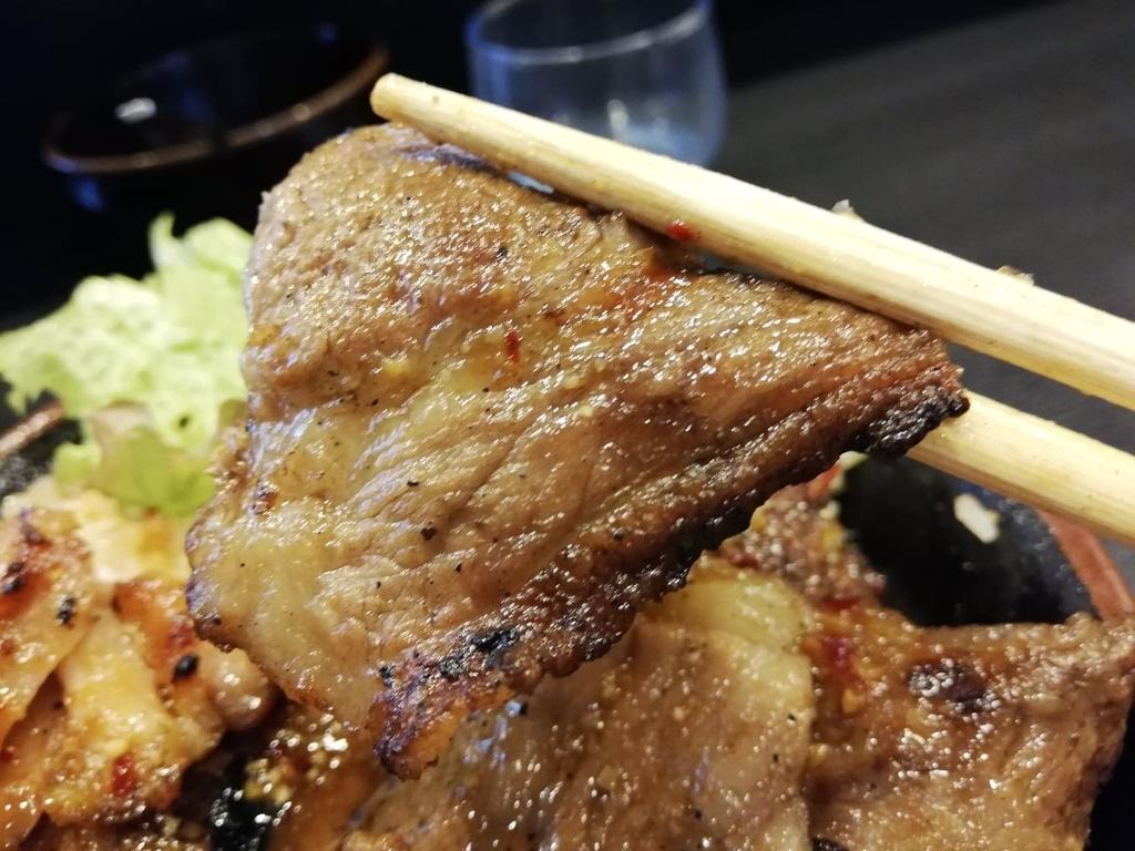 BIG丼のカルビ
