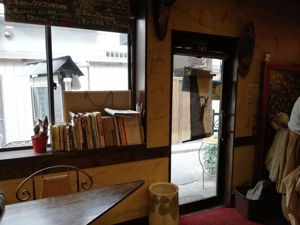 バオバブ(BAOBAB)の店内入り口付近