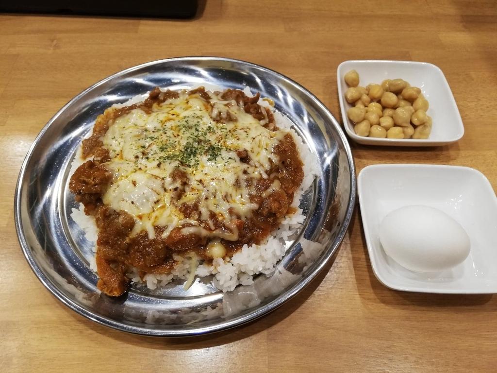 高田馬場『プネウマカレー』のチキンカレー