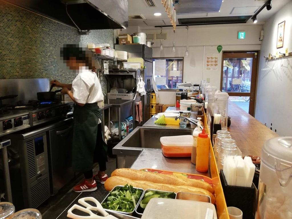 ヤミツキカリー西池袋店のキッチン
