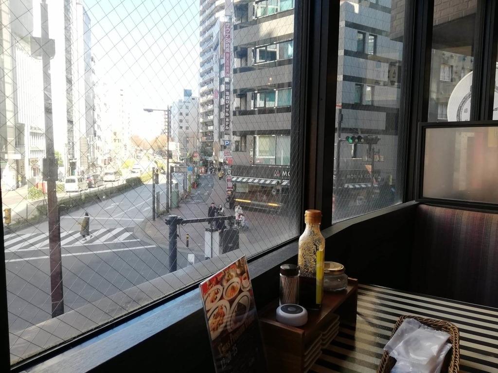 池袋『Gottie's BEEF(ゴッチーズビーフ)』の窓からの眺め