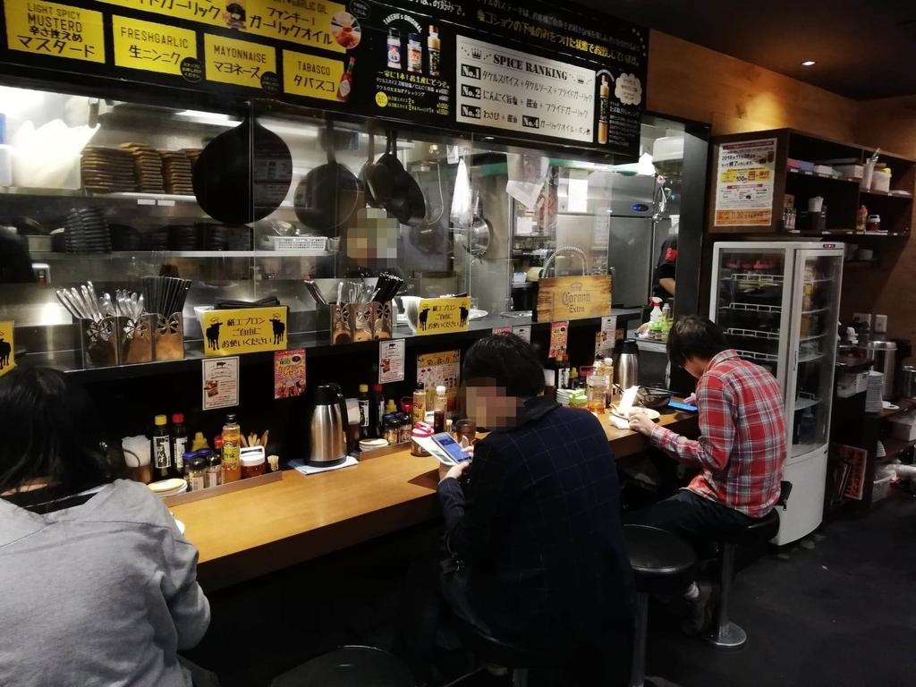 秋葉原『1ポンドのステーキハンバーグ タケル』の店内②