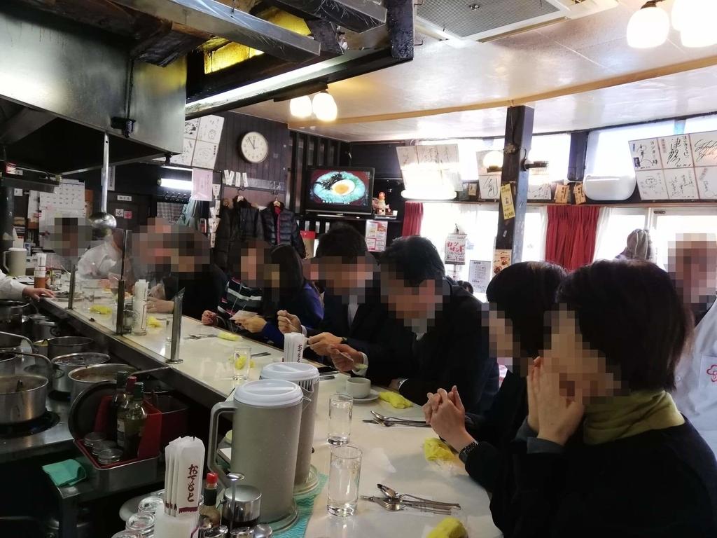 浅草『洋食屋ヨシカミ』の店内写真②