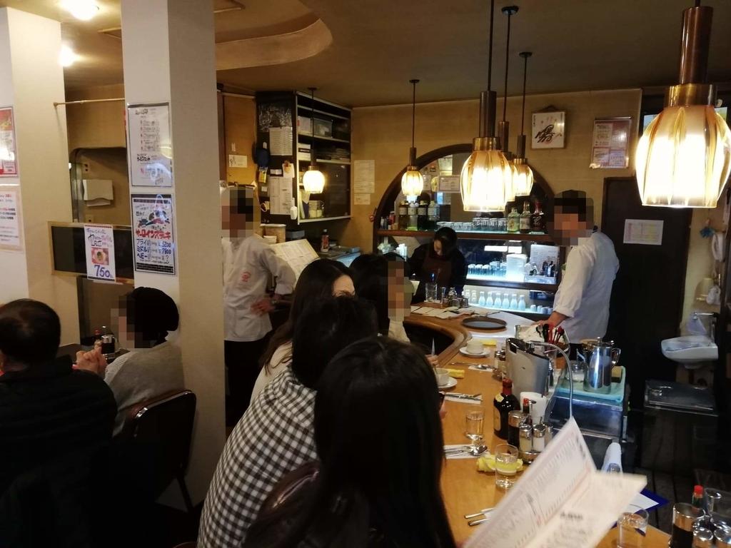 浅草『洋食屋ヨシカミ』の店内写真④