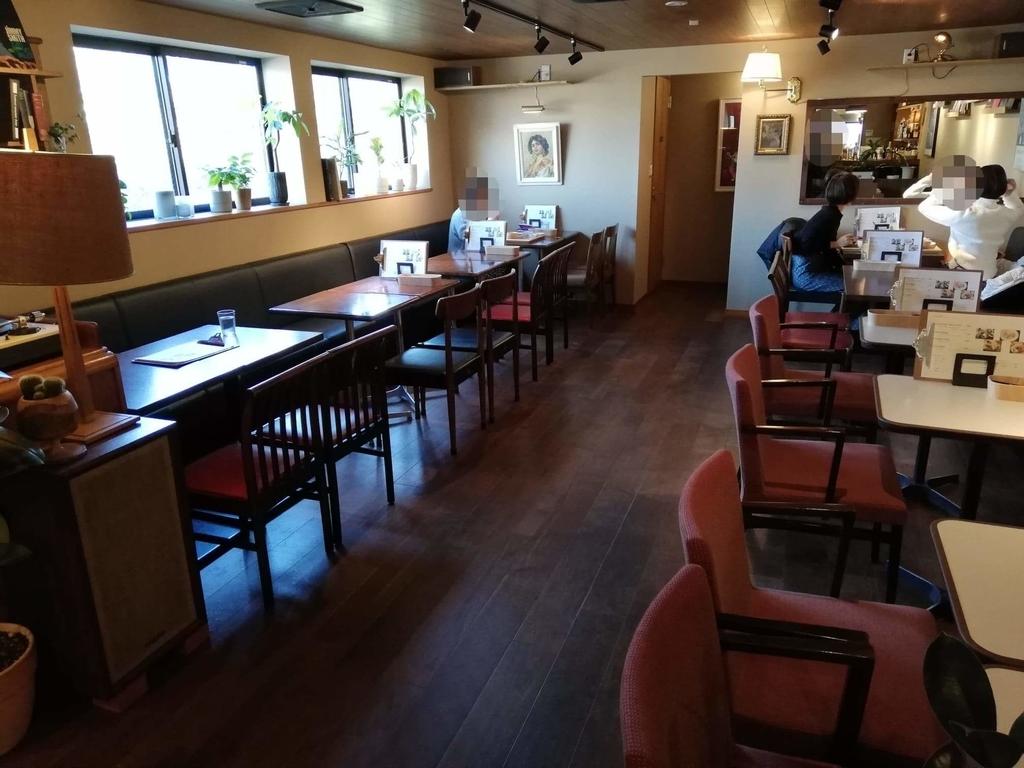 北千住のカフェ『寛美堂』の店内写真①