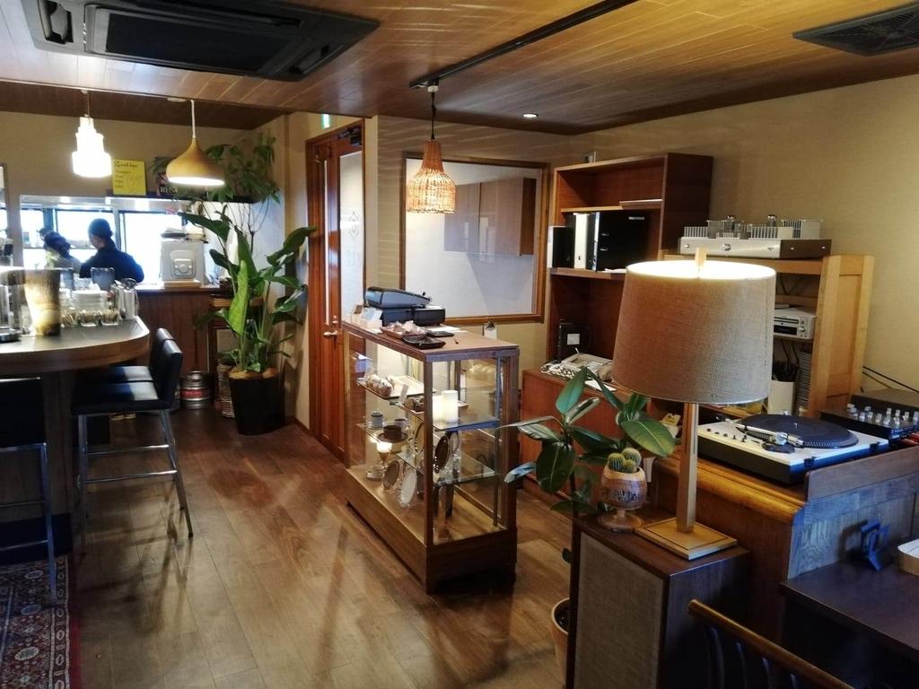 北千住のカフェ『寛美堂』の店内写真⑤