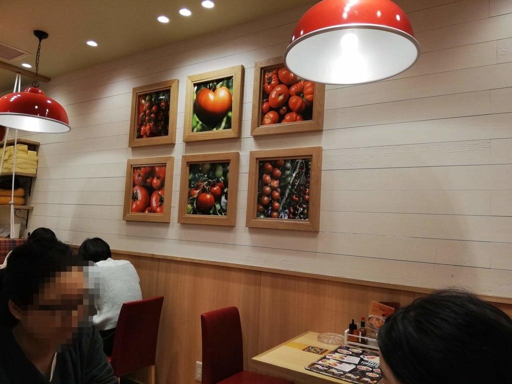 新宿ミロード店『太陽のトマト麺withチーズ』の店内写真③