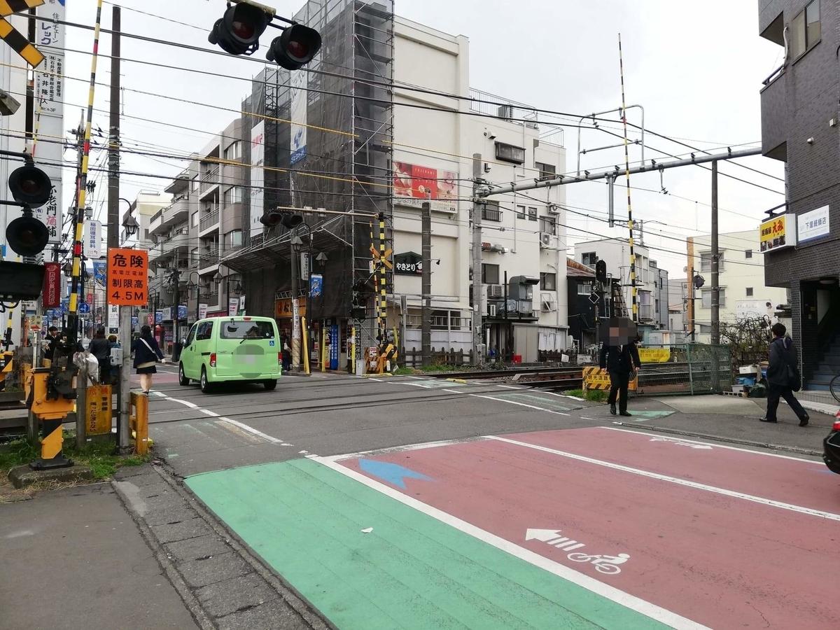 JR南武線稲田堤駅から『石づか』への行き方写真①