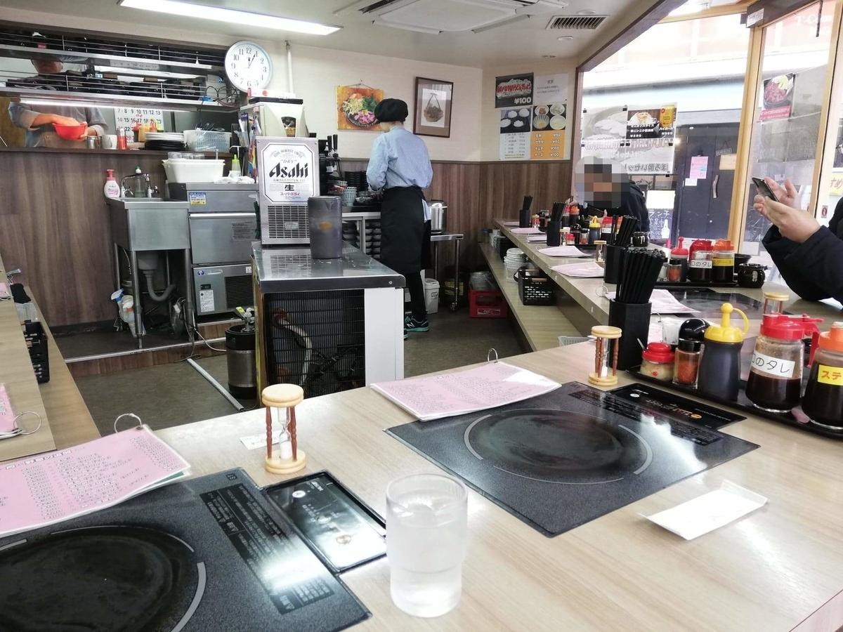 江古田『ふくふく食堂』の店内写真