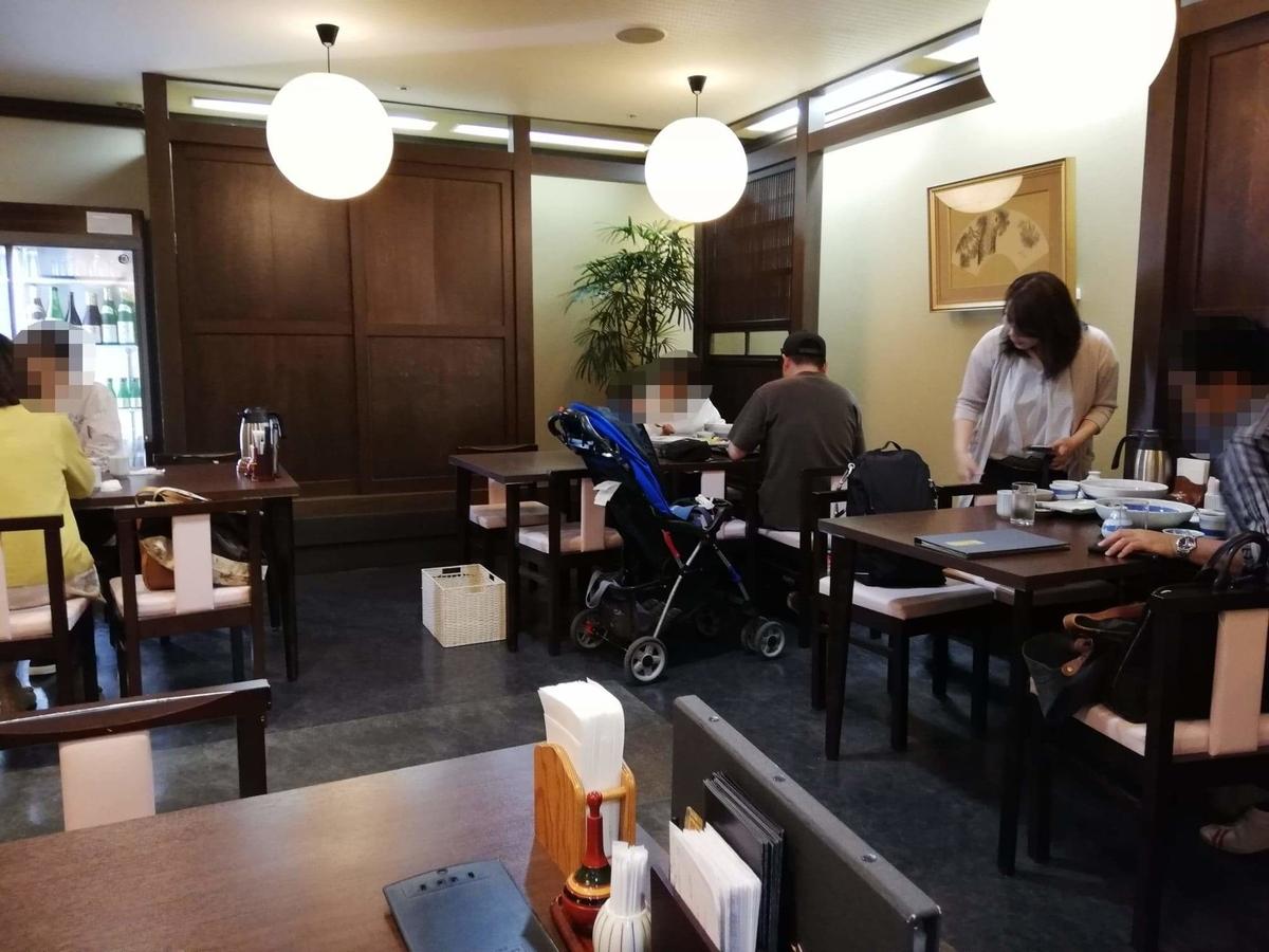 稲庭うどん『佐藤養助』秋田店の店内写真②