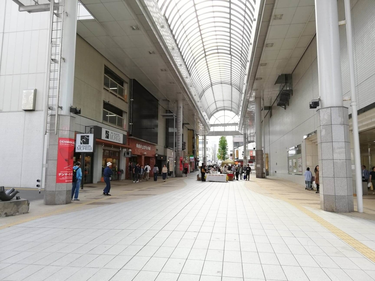 秋田駅中央口から秋田市民市場への行き方写真⑤