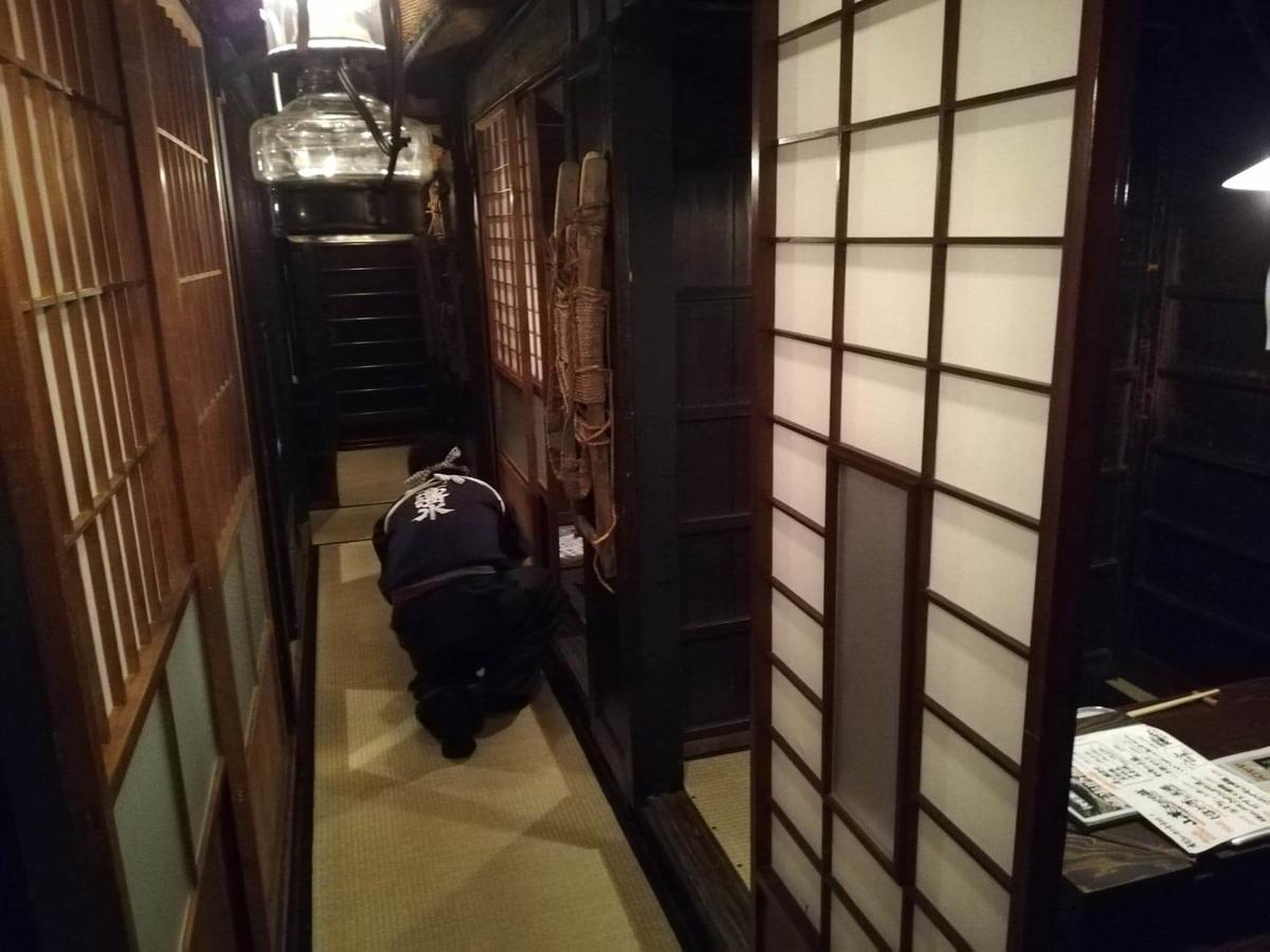 『秋田きりたんぽ屋大町分店』の店内写真④