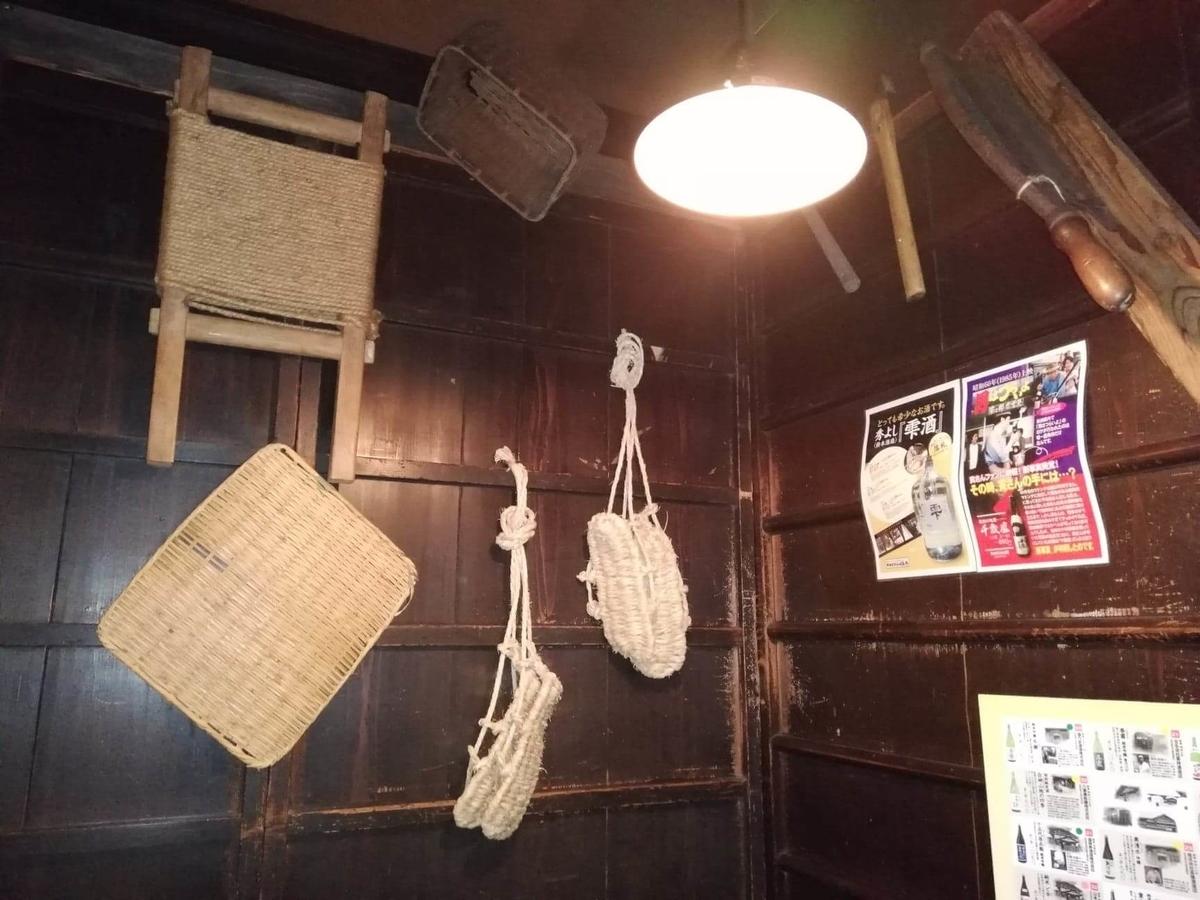 『秋田きりたんぽ屋大町分店』の店内装飾品写真④