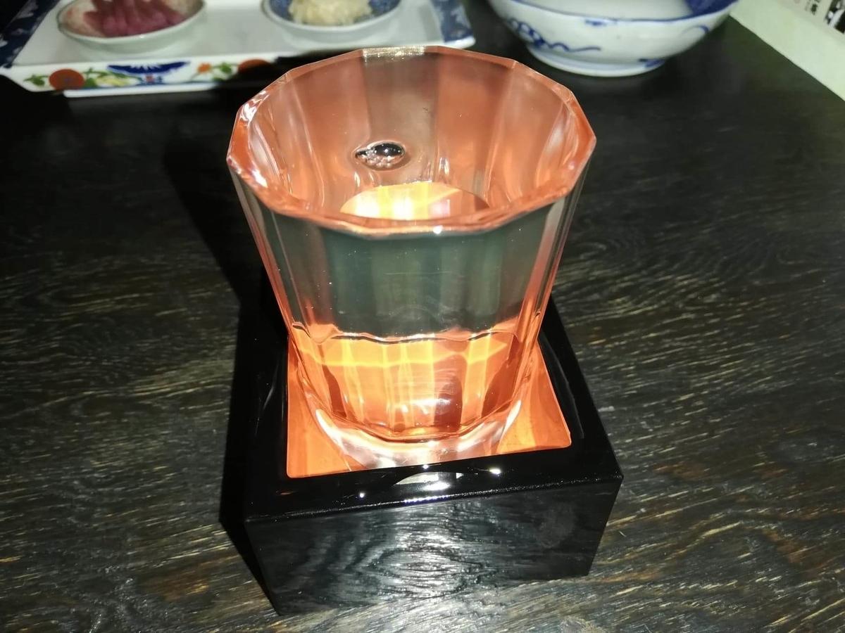 『秋田きりたんぽ屋大町分店』の雪月花純米吟醸の写真