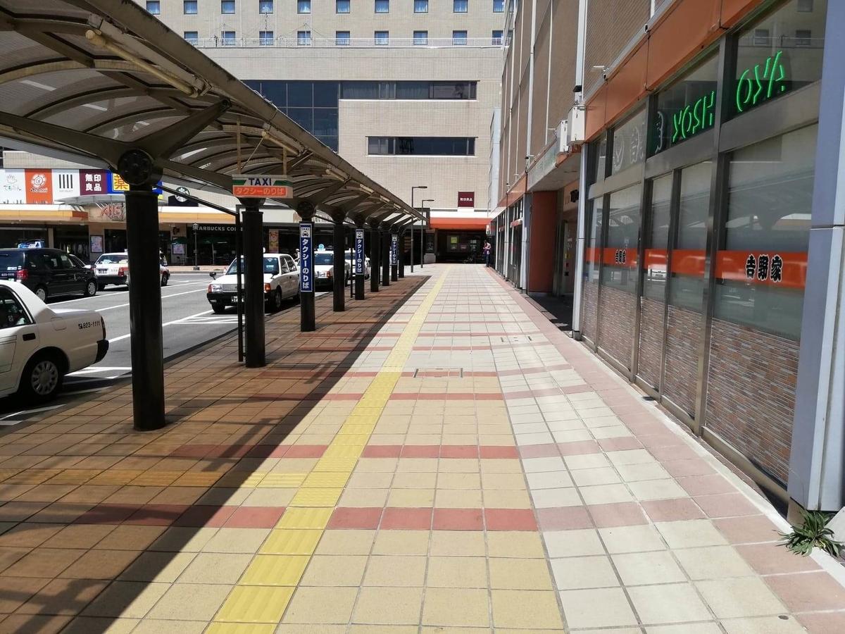 秋田駅から『秋田きりたんぽ屋大町分店』への行き方写真(2)