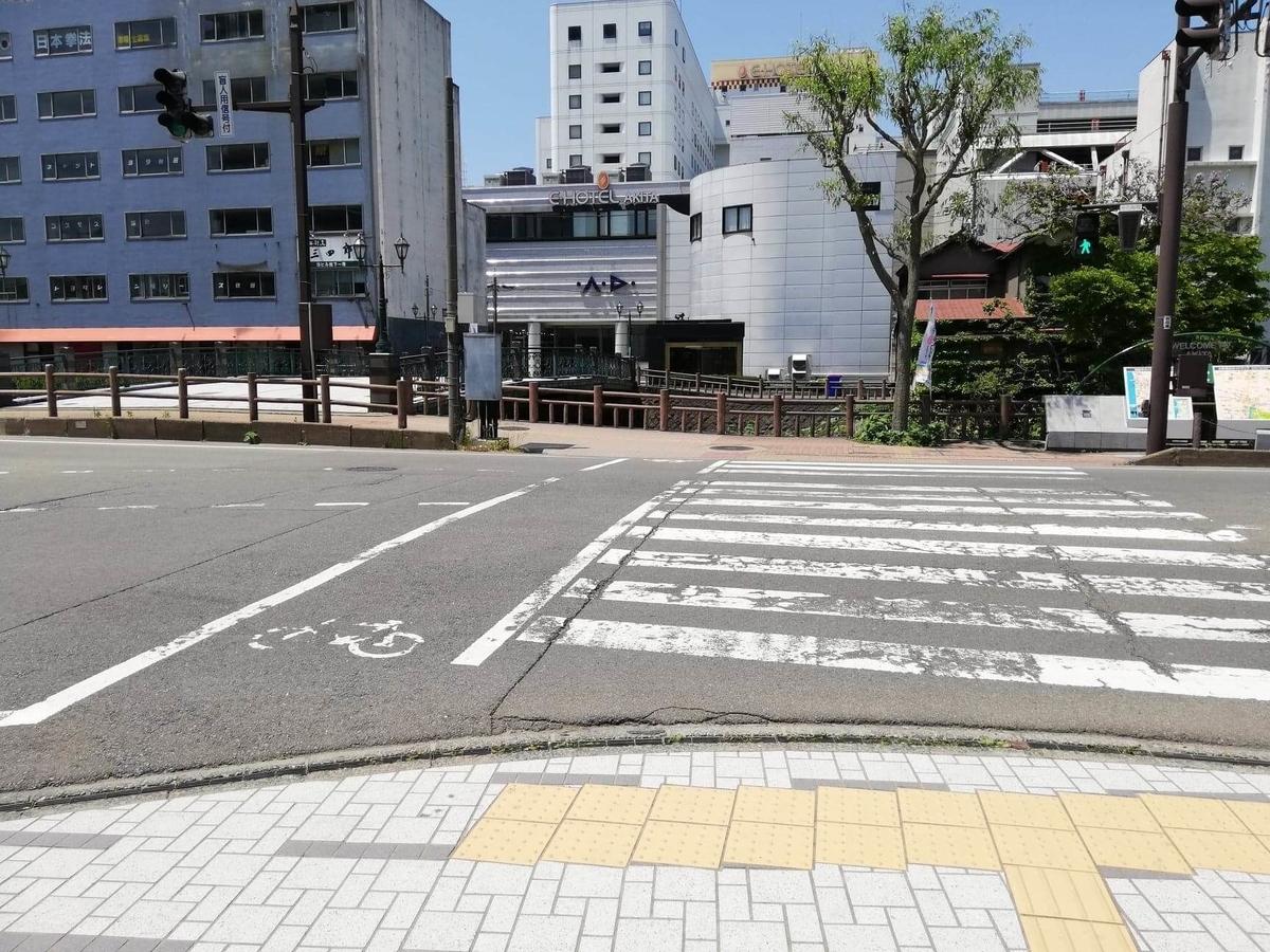 秋田駅から『秋田きりたんぽ屋大町分店』への行き方写真(11)