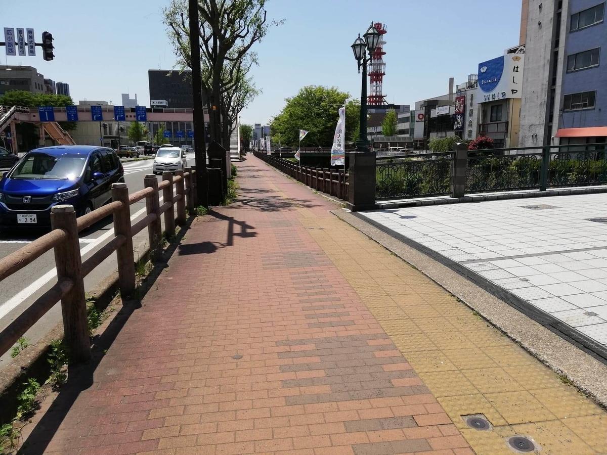 秋田駅から『秋田きりたんぽ屋大町分店』への行き方写真(13)