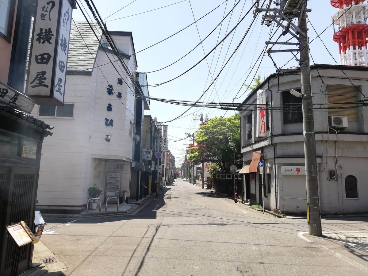 秋田駅から『秋田きりたんぽ屋大町分店』への行き方写真(21)