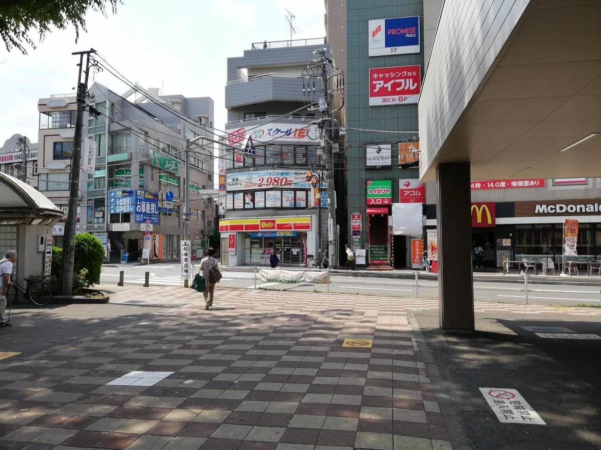 久米川駅前の風景写真①