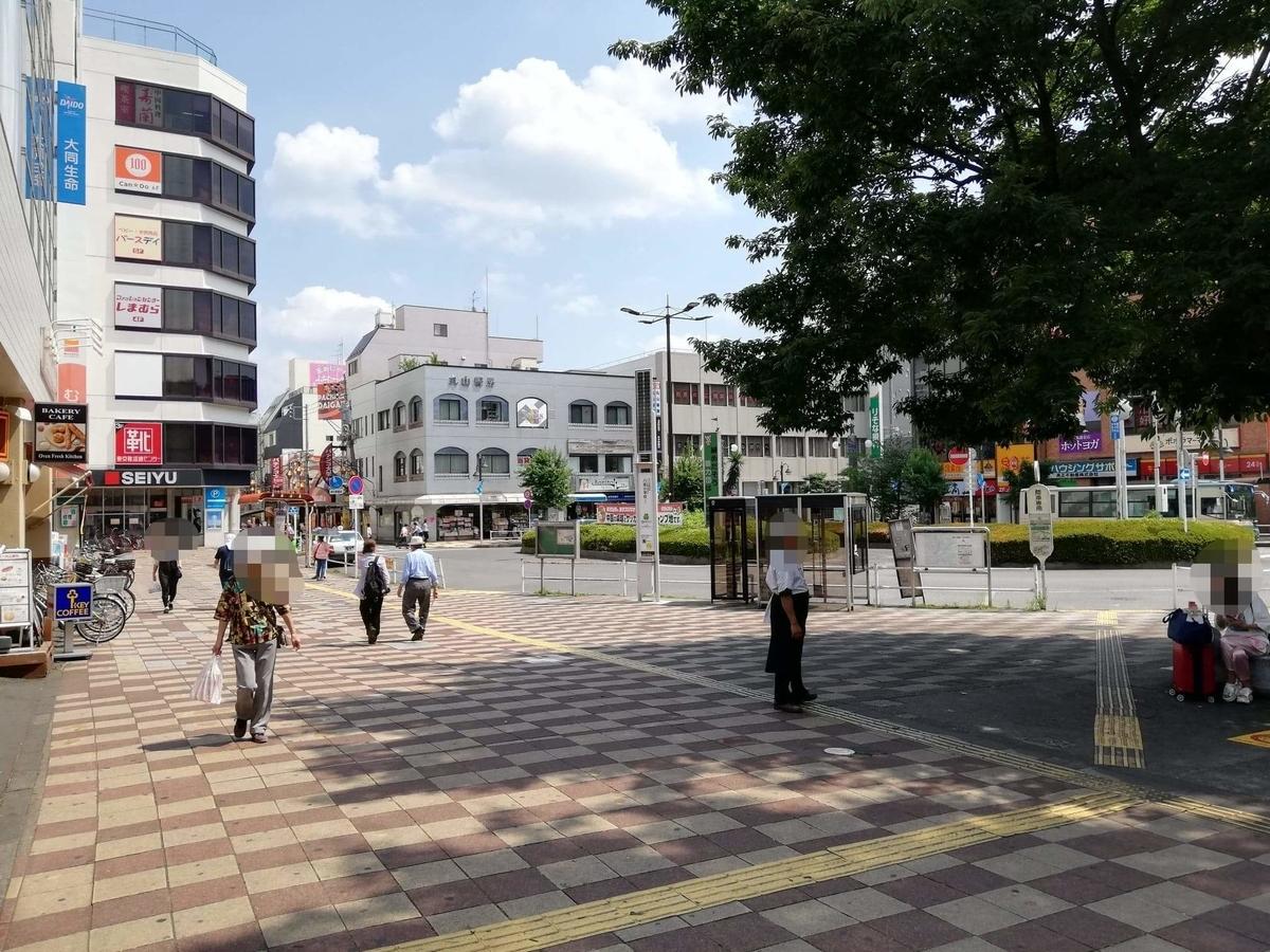 久米川駅前の風景写真②