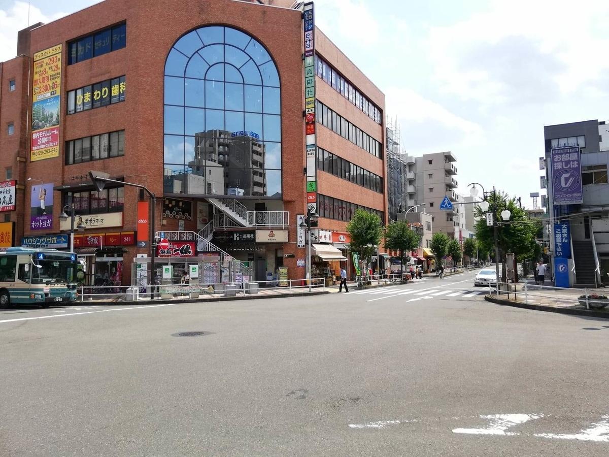 久米川駅前の風景写真③