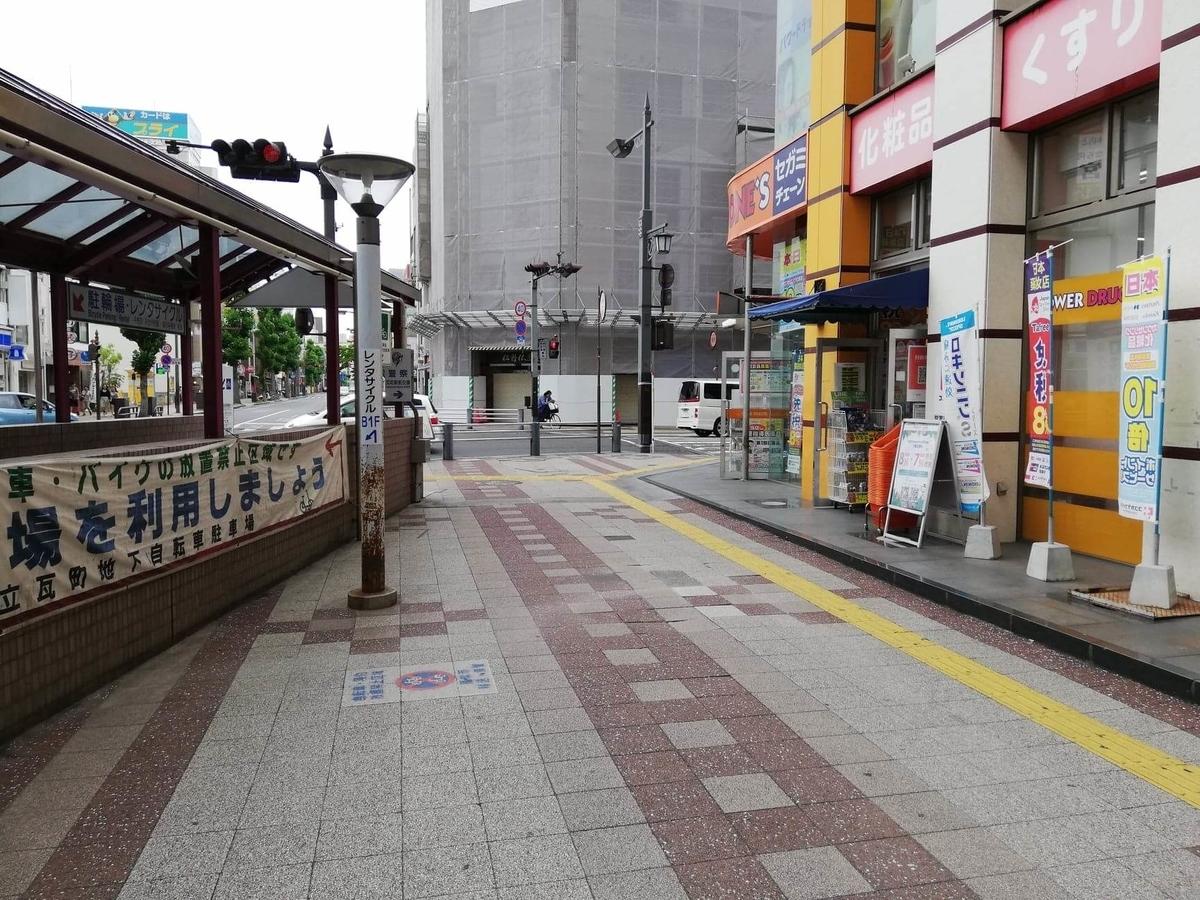 瓦町駅から香川県高松市『骨付鳥一鶴』への行き方写真⑤