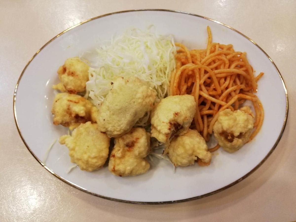 香川県高松市『洋食おなじみ』のとりの骨抜きの写真