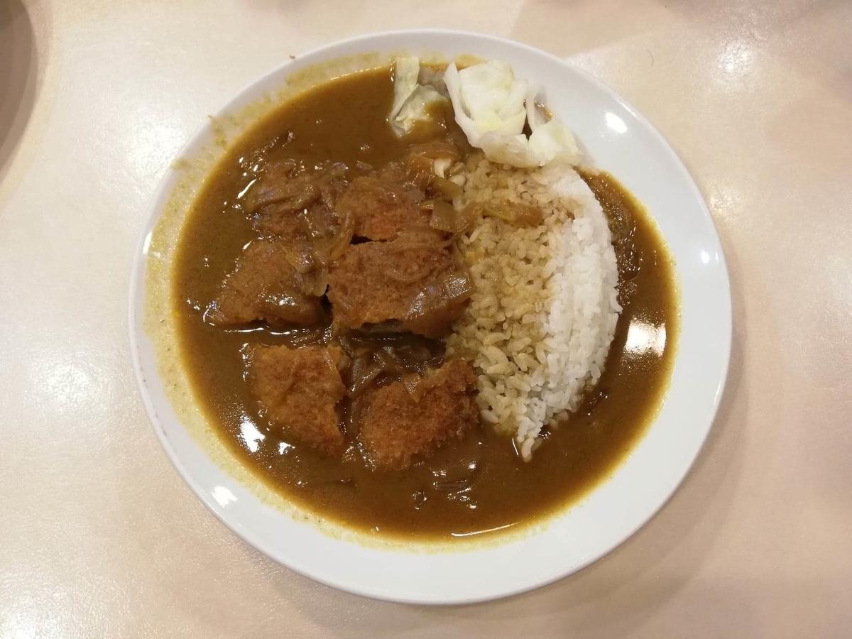 香川県高松市『洋食おなじみ』のチキンカツカレーの写真