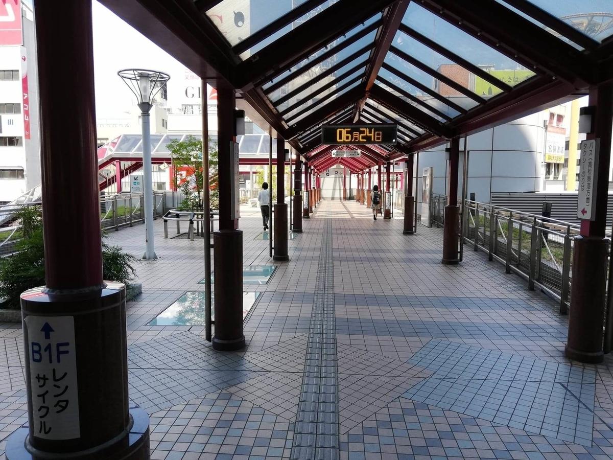 瓦町駅から香川県高松市『瀬戸内豚料理紅い豚』へのアクセス写真④