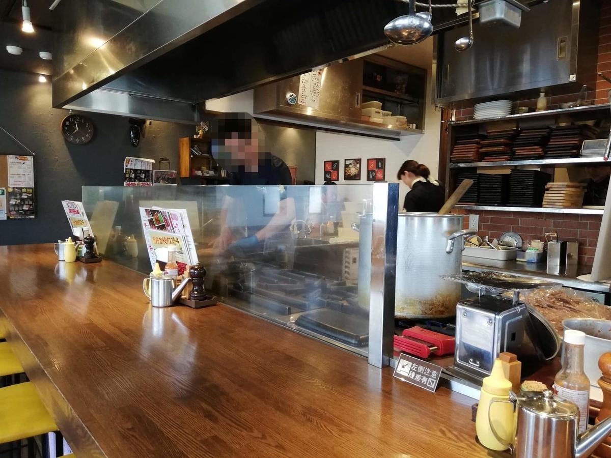 浦和『オープンキッチン然(Open Kitchen 然)』の店内写真②