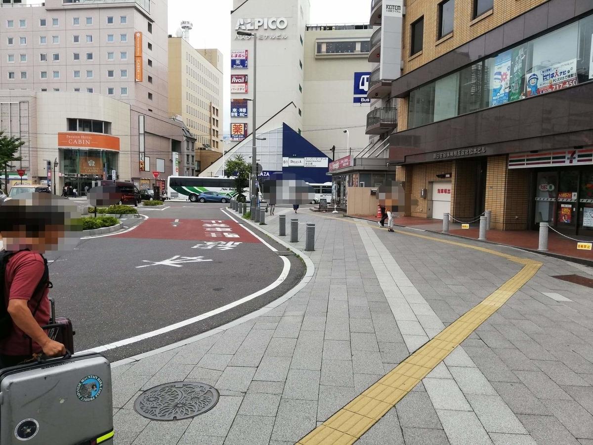 松本駅から『松本つなぐ横丁』への行き方写真④