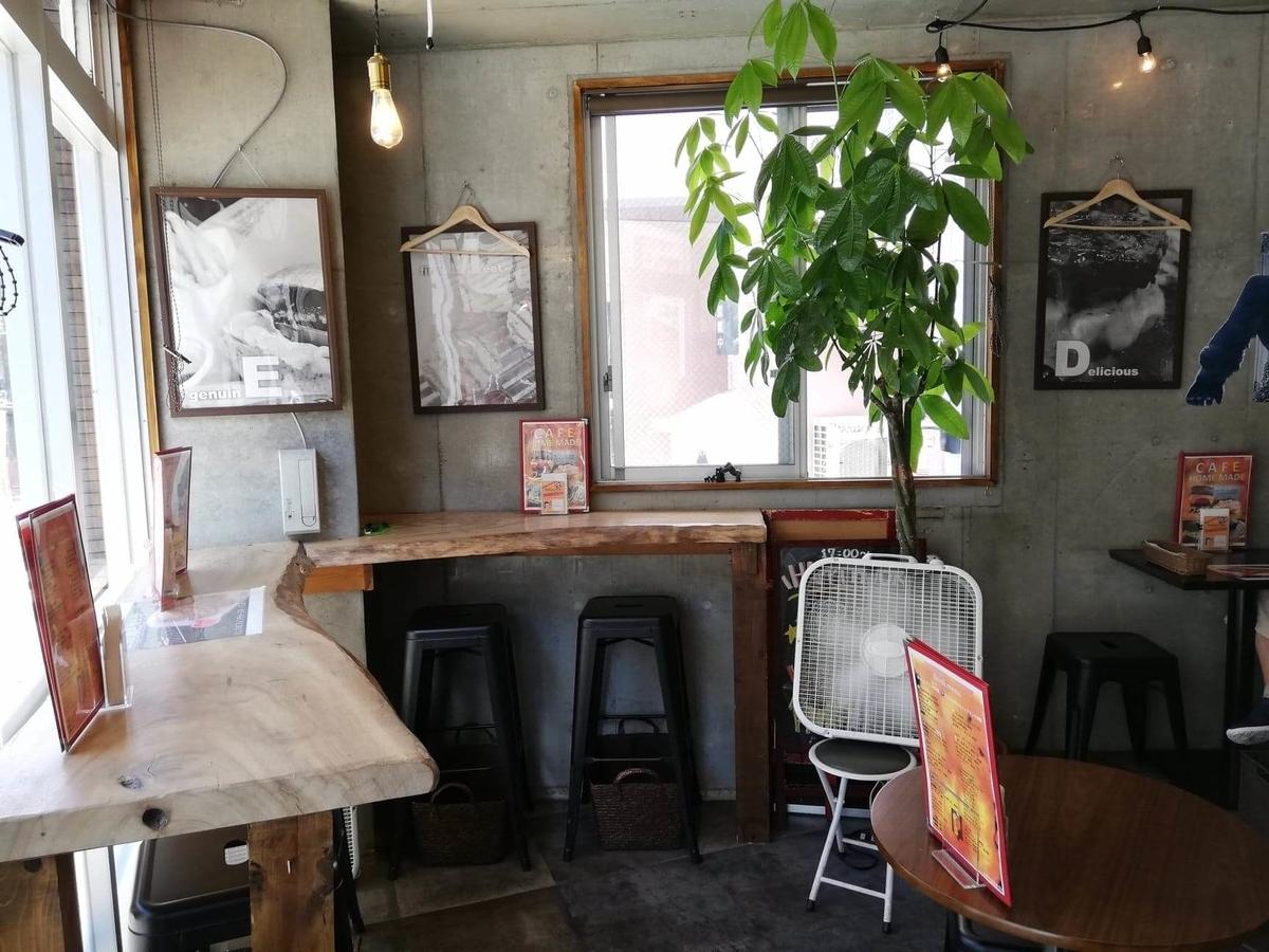 三軒茶屋『CAFE HOME MADE(カフェホームメイド)』の店内写真①