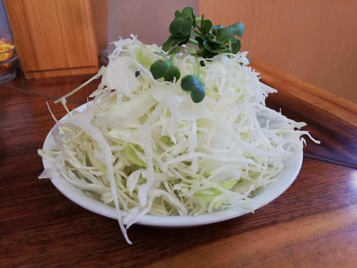 高田馬場『馬場南海』のサラダの写真