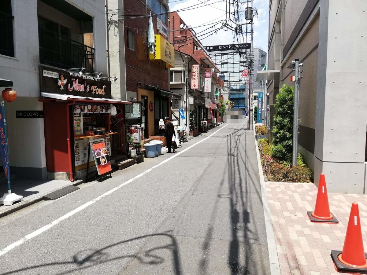 高田馬場駅から『キッチンニュー早苗』への行き方写真⑦
