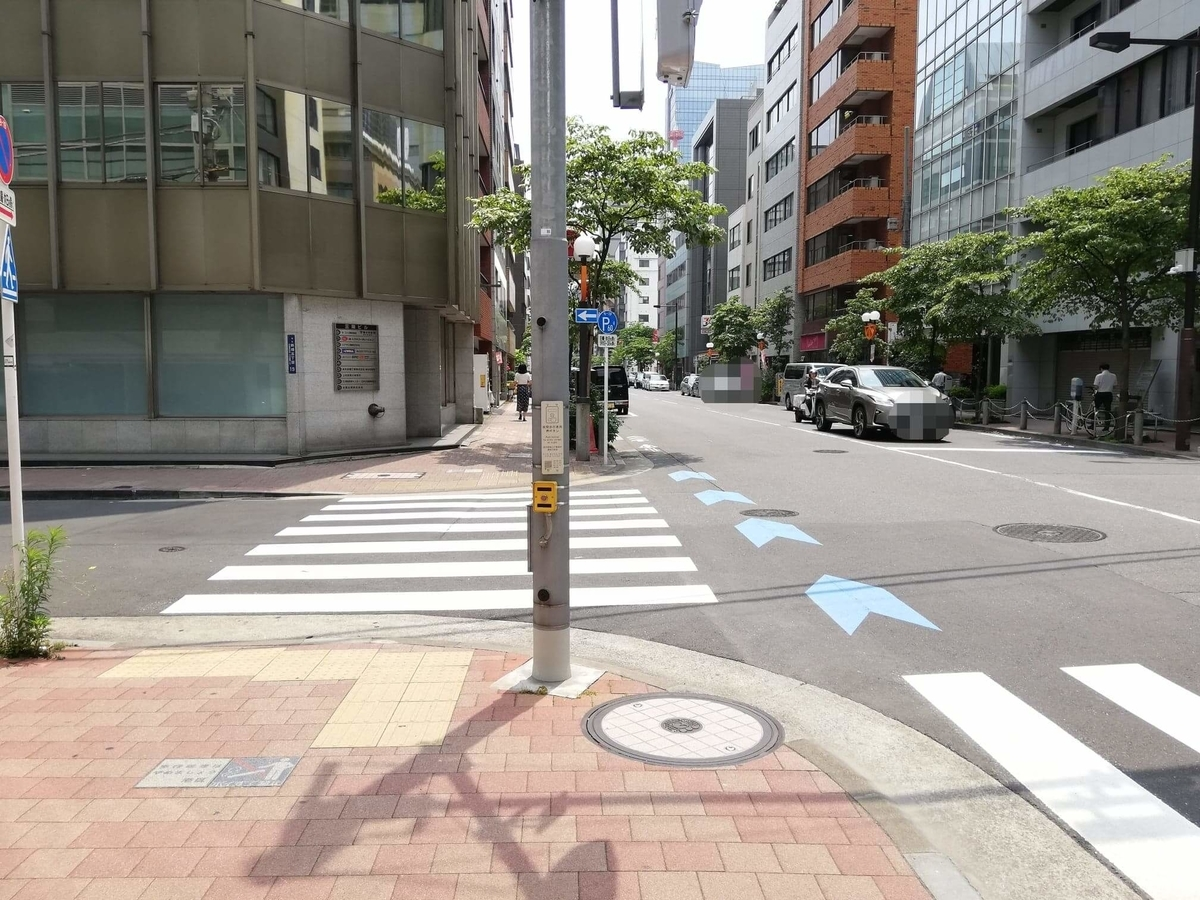 新橋駅から『洋食すいす』への行き方写真(11)