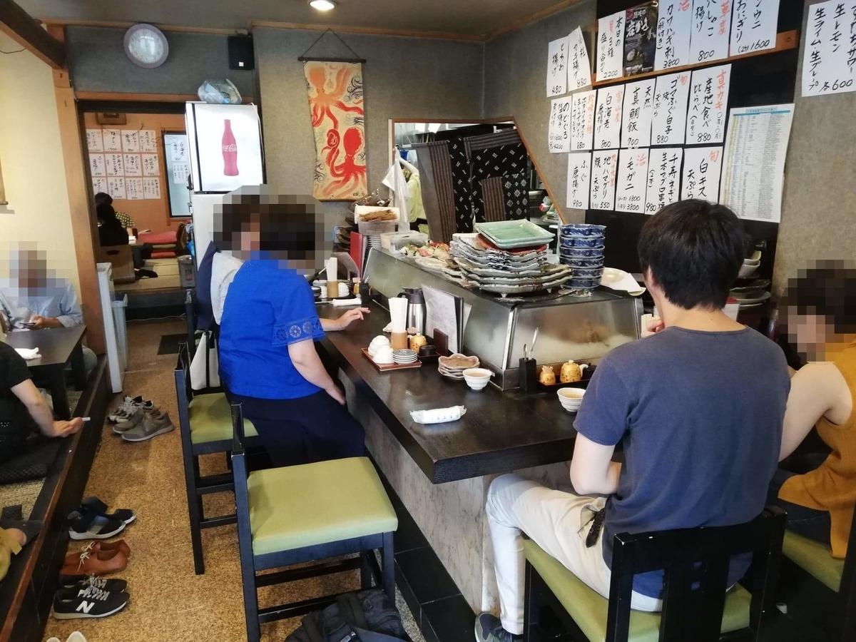 北千住『市場食堂さかなや』の店内写真②