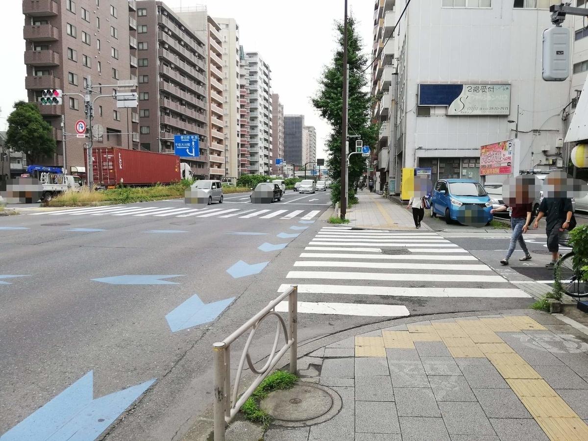 北千住駅から『市場食堂さかなや』への行き方写真(8)