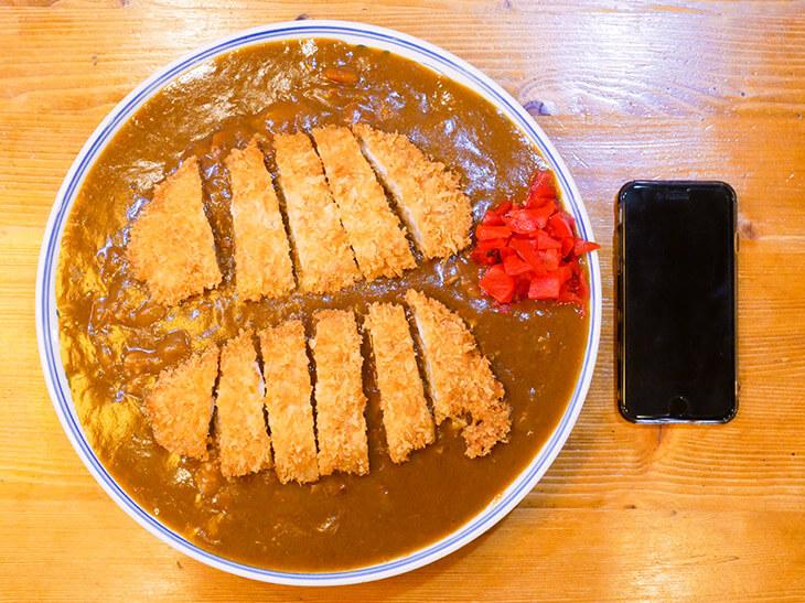 東池袋『伊東食堂』の特大カツカレーの写真