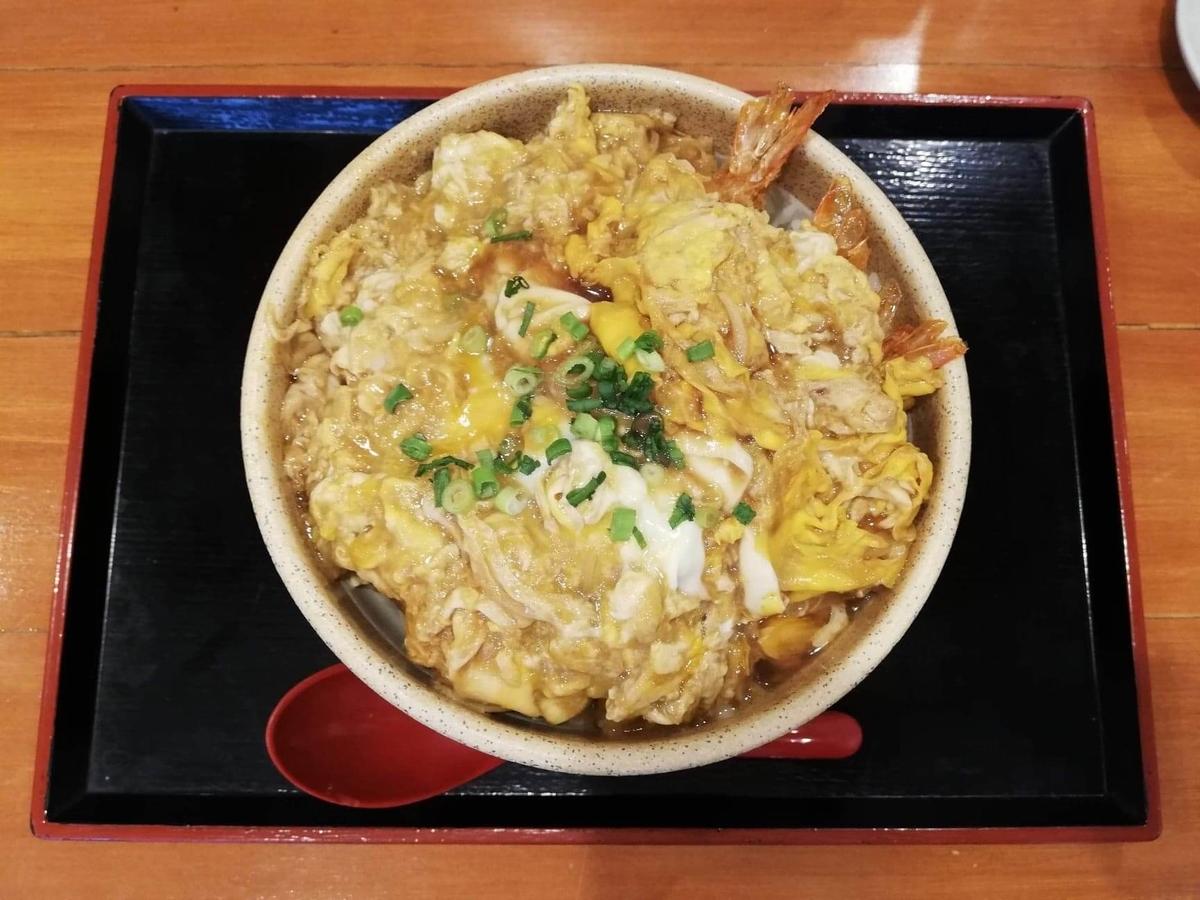 大宮『杉本の店』の海老フライ丼の写真
