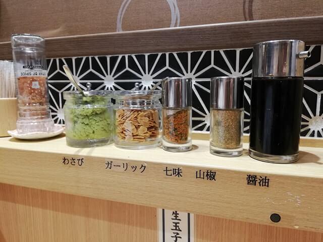 大阪『ビフテキ重・肉飯 ロマン亭』の薬味の写真
