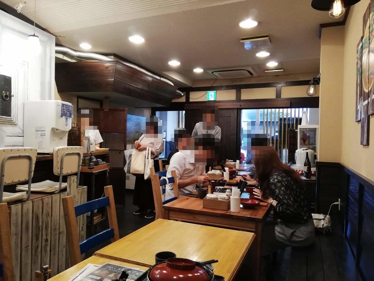 本川越『小江戸オハナ』の店内写真②