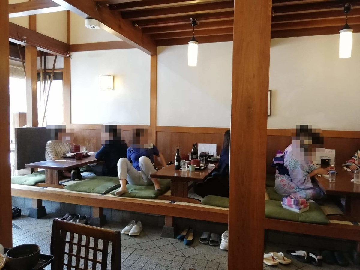 本川越『茶そば寿庵蔵のまち店』の店内写真②