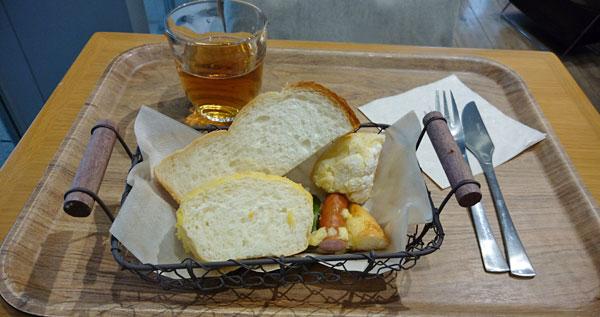 パンとドリンク
