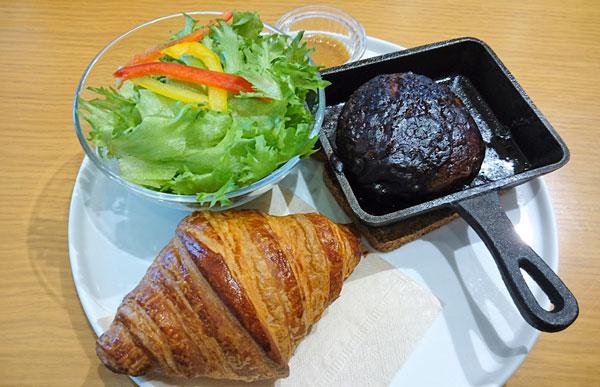 石釜焼きデミグラスソースハンバーグ