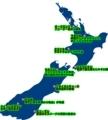 ニュージーランド全体図