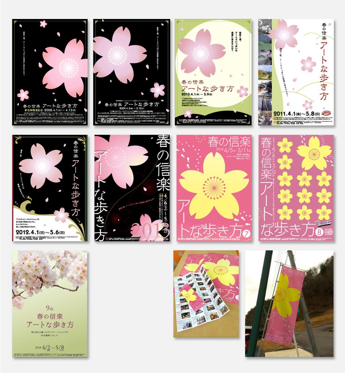 春の信楽アートな歩き方 イベント関連ポスター・のぼりなど