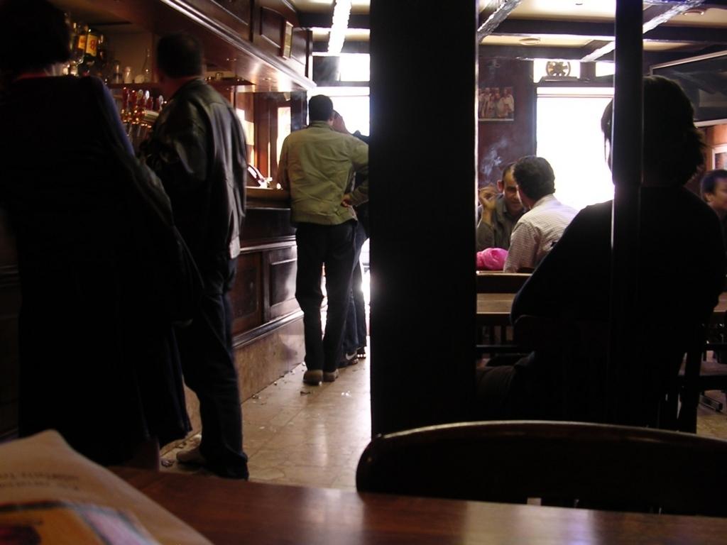 カフェの中の景色