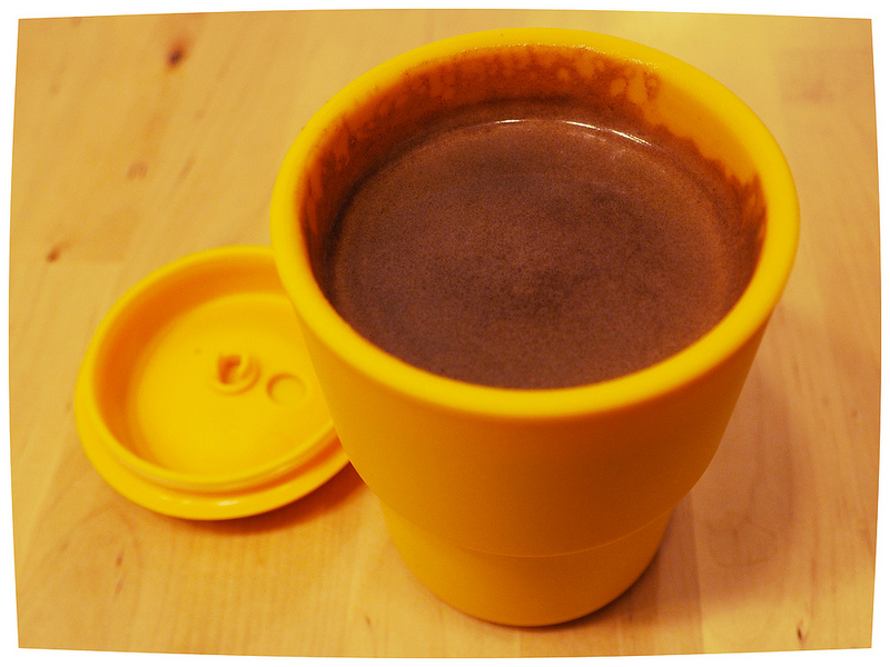 コーヒーのできあがり
